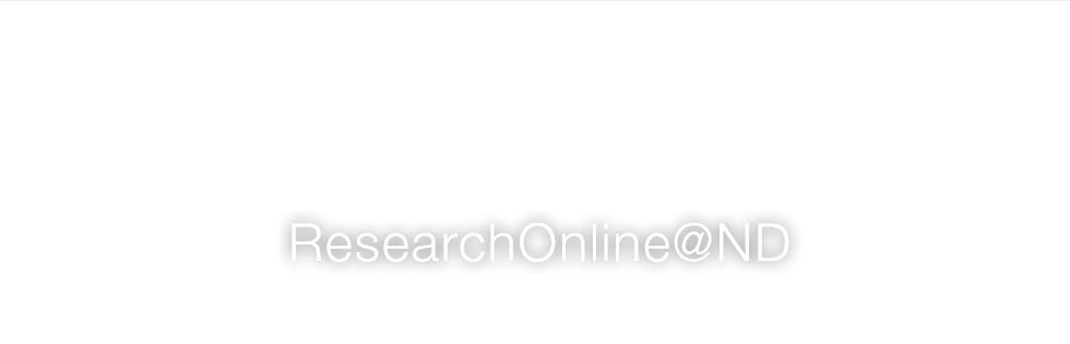 ResearchOnline@ND